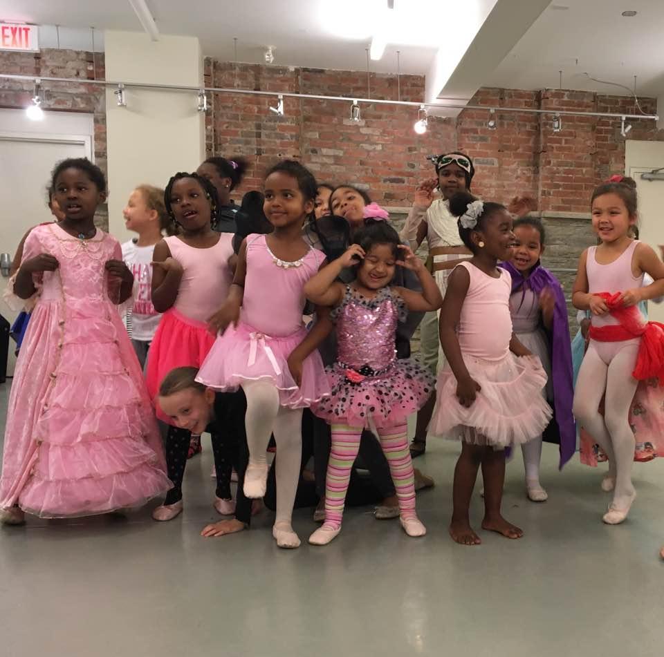 Citadel Dance Program students