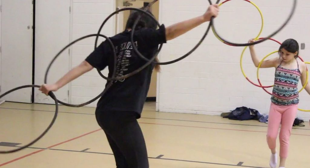 council-fire-hoop-dancers