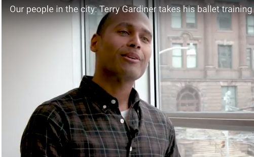 CDP's Terry Gardiner in U of T News